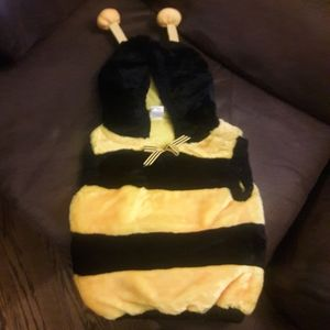 Bumble bee costume 12-24 mos
